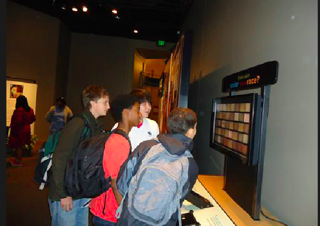 Field Trip to the Race Exhibit