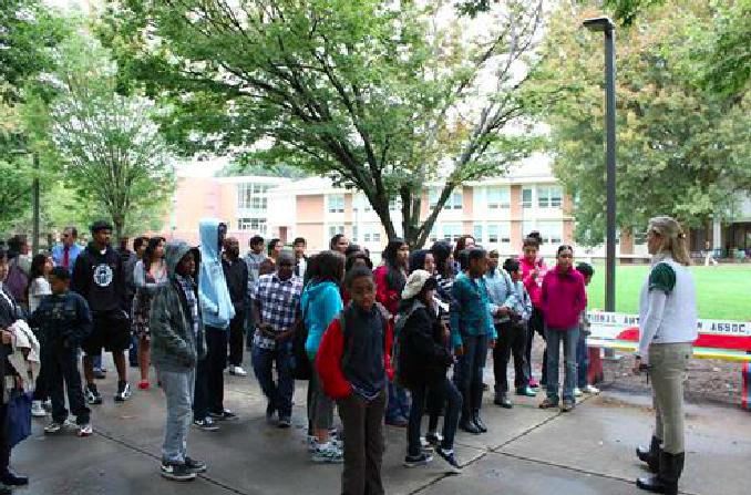 Touring GMU Campus