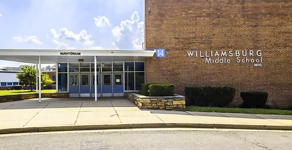 Williamsburg Middle School received the 2014 Board of Education's Award for Excellence in Education!!