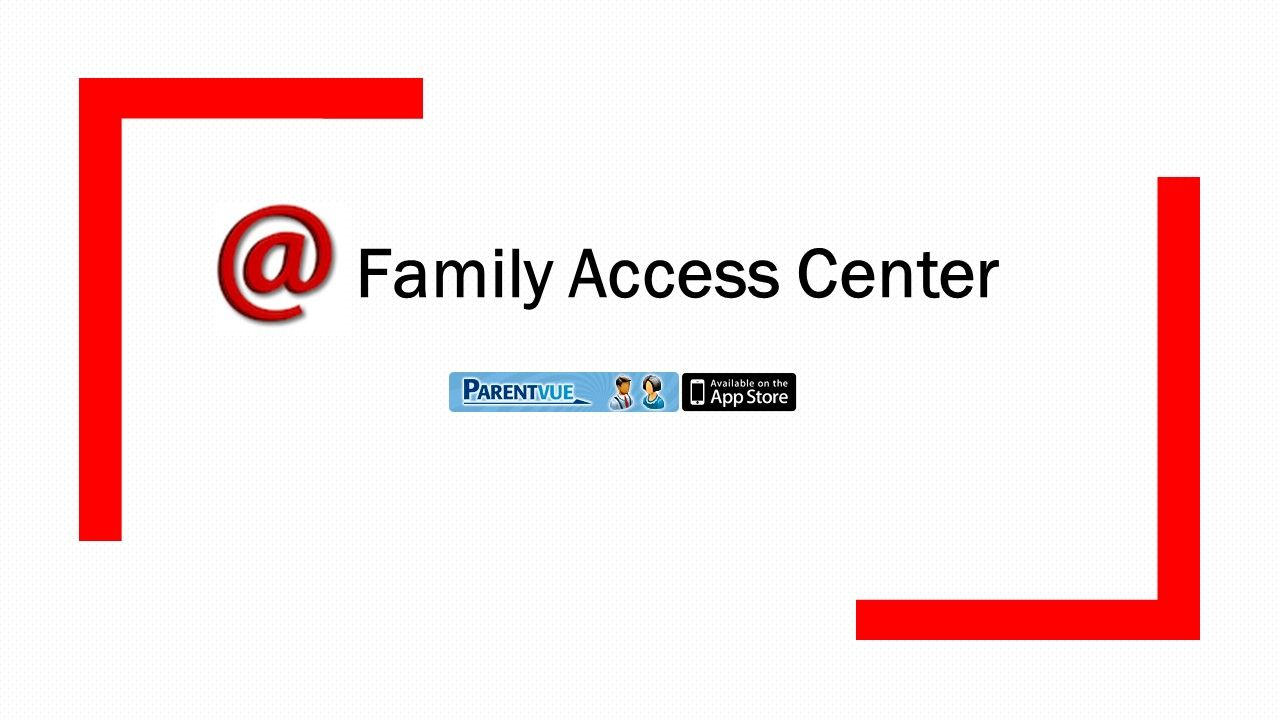 Parent Access Center