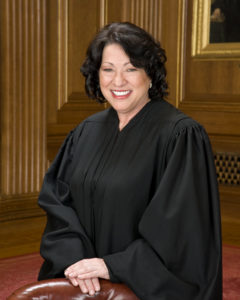Official Portrait of Justice Sonia Sotomayor