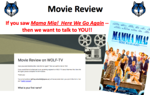 Movie Review: Mama Mia! Here We Go Again