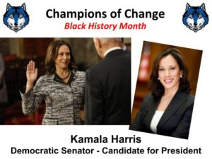 Champion of Change -- Kamala Harris