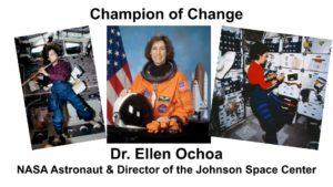 Champions of Change -- Ellen Ochoa - 1