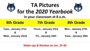 TA Pictures -- Schedule