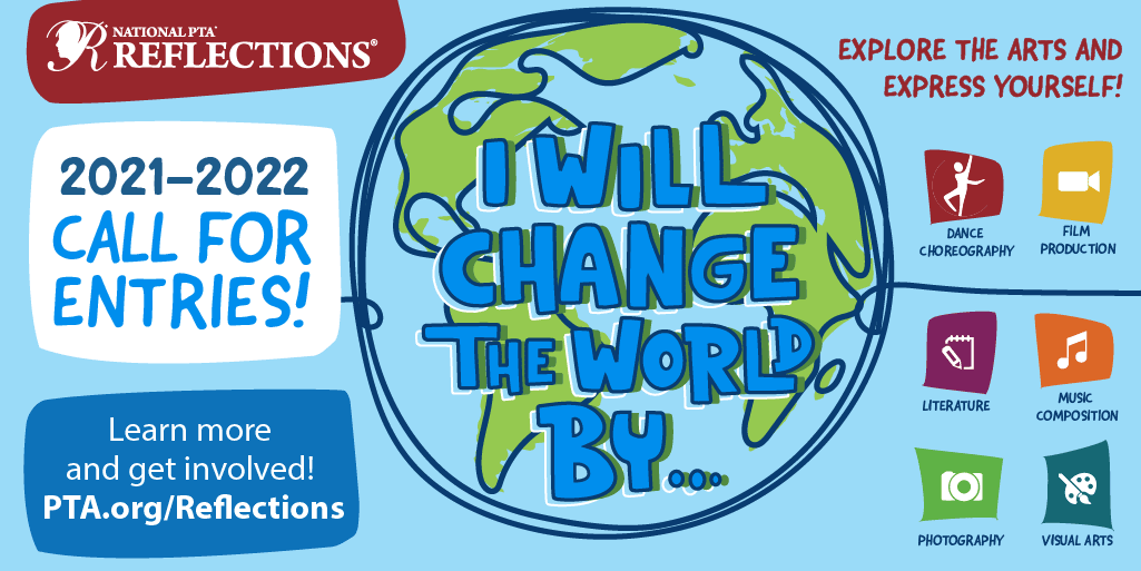 2021-2022 Call for Entries; I will change the world by...